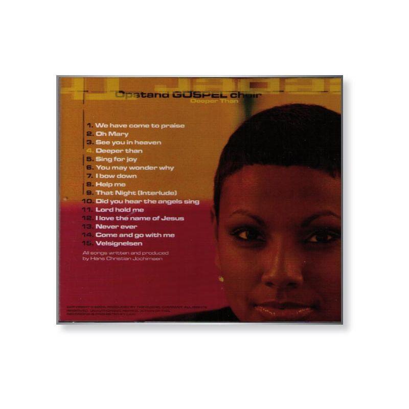 Zum Vergrößern klicken - CD-Deeper-than-Hans-Christian-Jochimsen-Opstand-Gospel-Choir_b2