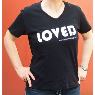 LOVED T-Shirt Damen Größe XL