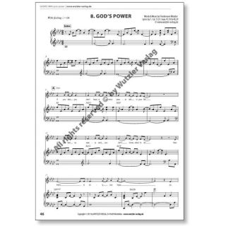 WITH YOUR POWER - Pianobook | GOSPELSONGS
