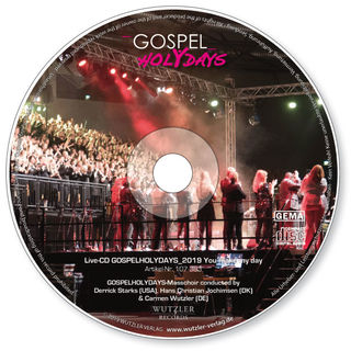 GOSPELHOLYDAYS_2019  Live-CD You make my day