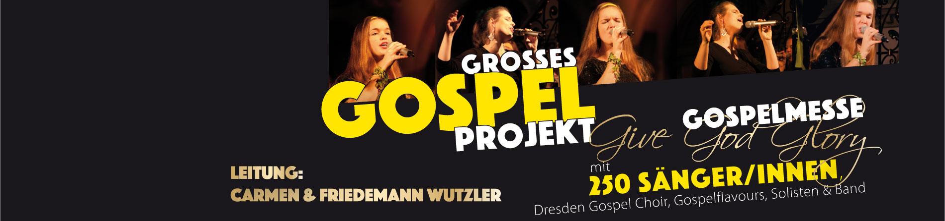 Jetzt anmelden! , Singen Sie die Gospelmesse Give God Glory unter unserer Leitung