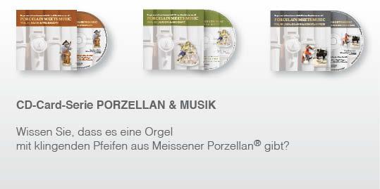 CD-Cards Porcelain meets music