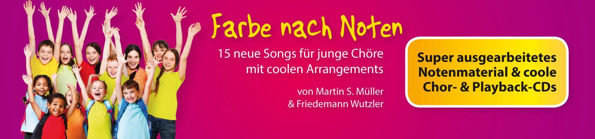 Neue Hits für junge Chöre (8-16 Jahre)